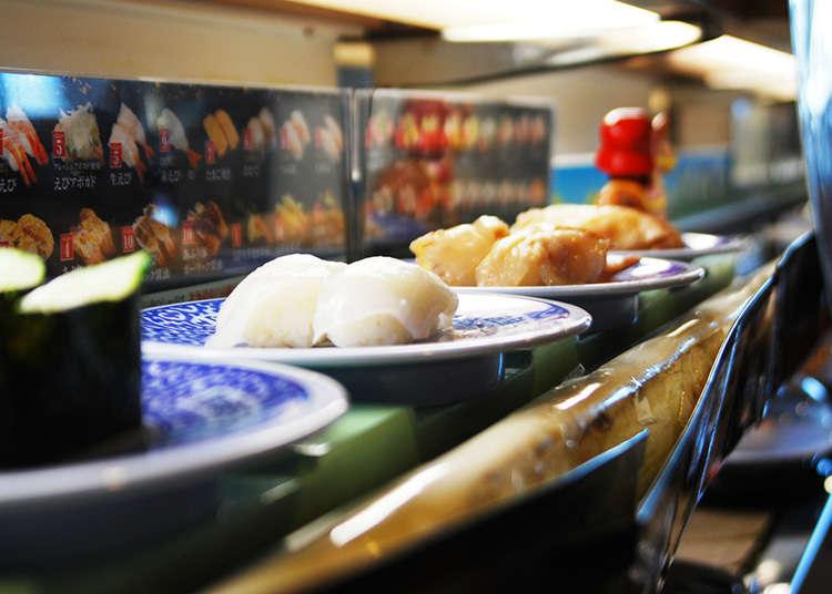 Sejarah restoran sushi bergerak.