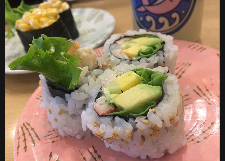 西式捲和獨特的壽司配料一樣享有高品質