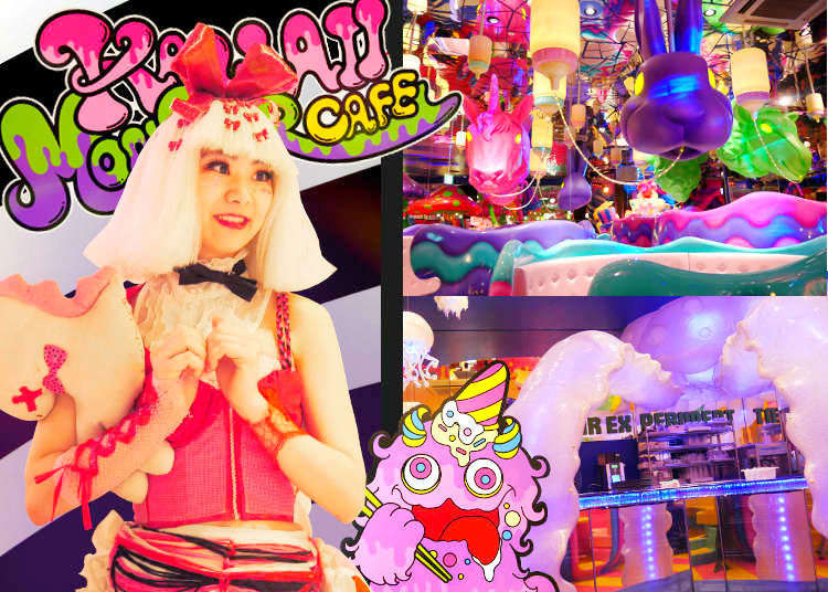 Monsters Galore?! Visiting the Famous KAWAII MONSTER CAFE
