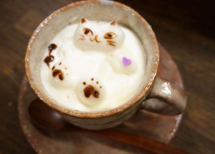 好喝又讓人感到幸福的3D咖啡拉花