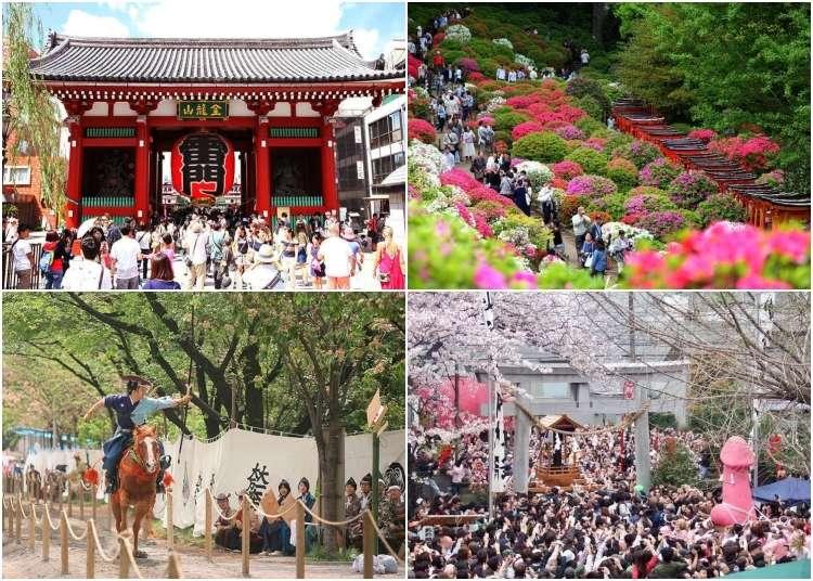 Ringkasan aktiviti Tokyo pada bulan April