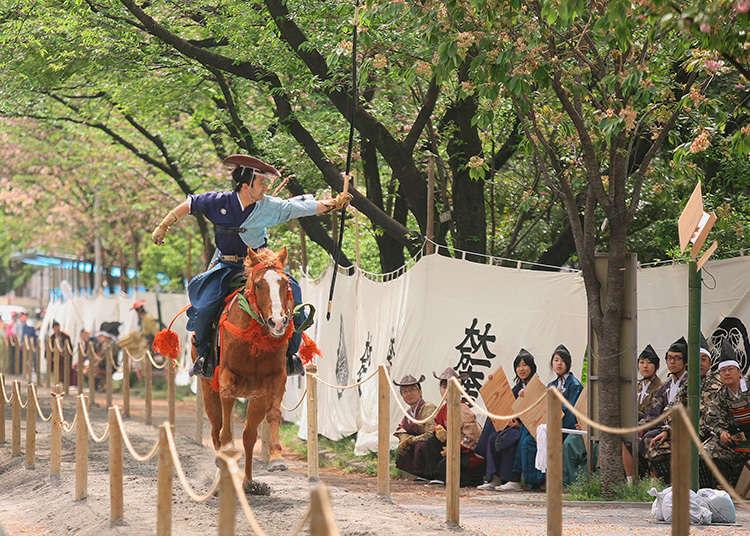 Yabusame, Asakusa Horseback Archery