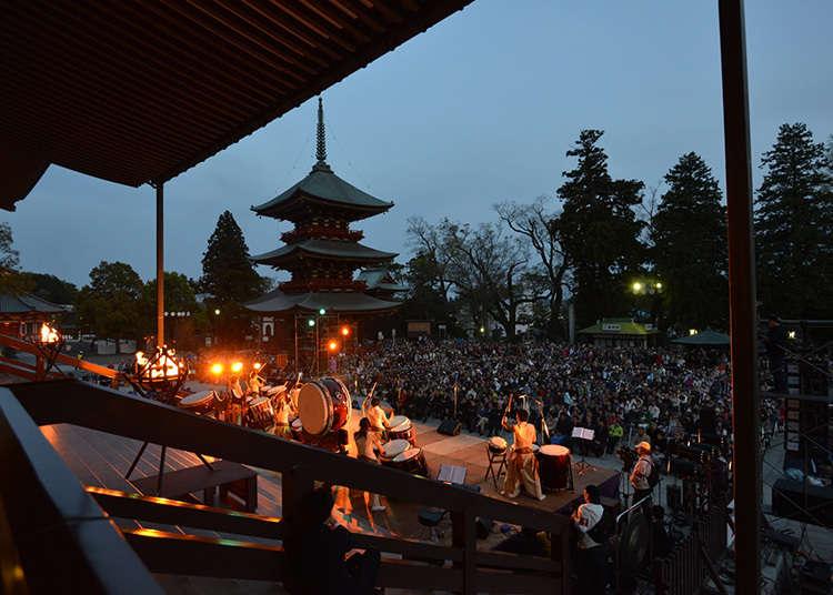 Narita taikomatsuri (pesta gendang)