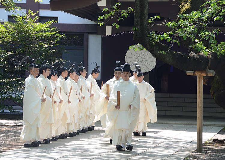 Shunkireitaisai (pesta terpenting pada musim bunga)