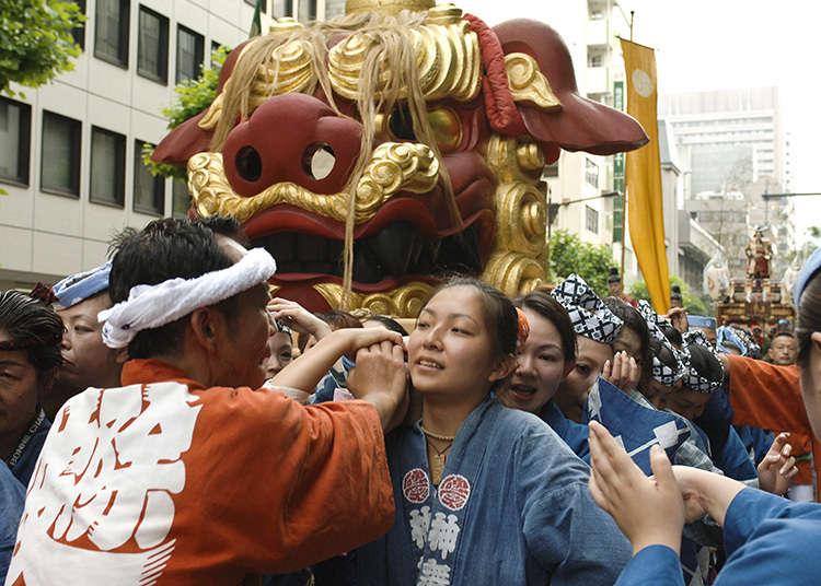เทศกาลสิงโตที่ทสึคิจิ
