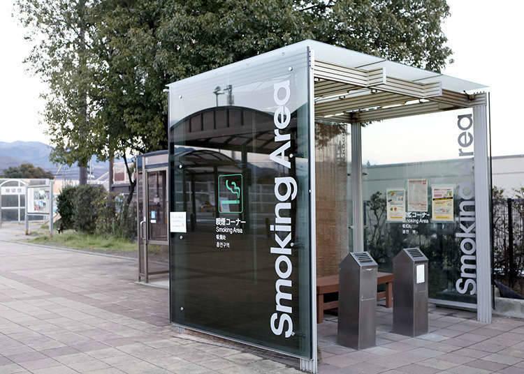 禁烟或把吸烟区和禁烟区分开的饮食店