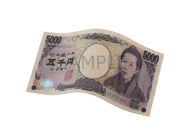 ธนบัตร 5,000 เยน (JPY)