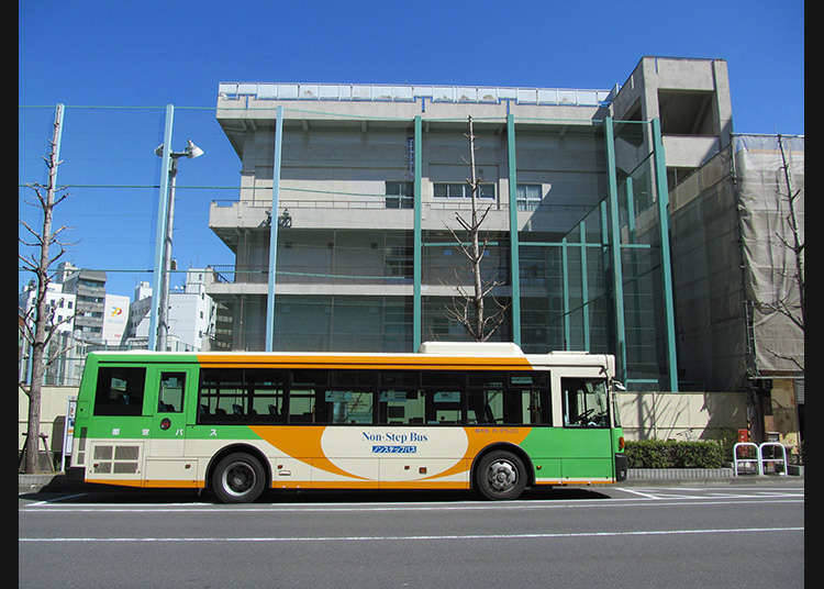 Common Buses Around the Tokyo Area
