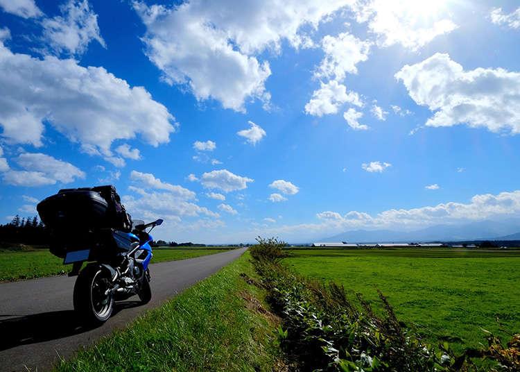 在日本骑自行车的话