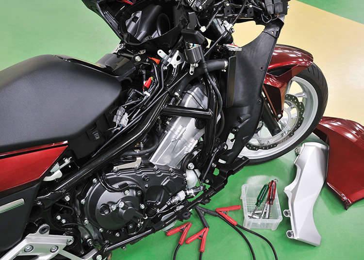 Pengubahsuaian motosikal yang menyalahi undang-undang
