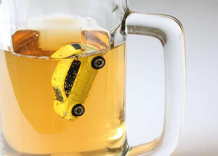 無免許運転、飲酒運転はNG