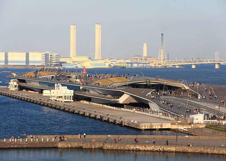 Osanbashi Yokohama International Passenger Terminal