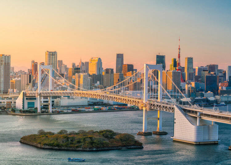 1-Day Passes for the Tokyo Bay Area