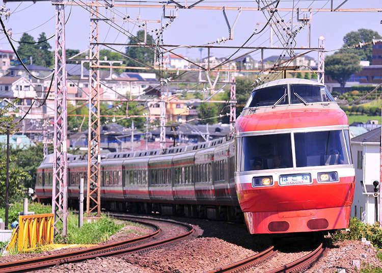 Tiket Naik Kereta Seharian Odakyu Electric Railway