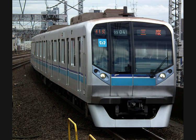 Tiket perjalanan 1 hari oleh Tokyo Metro