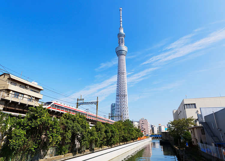 東武鐵道的1日乘車票