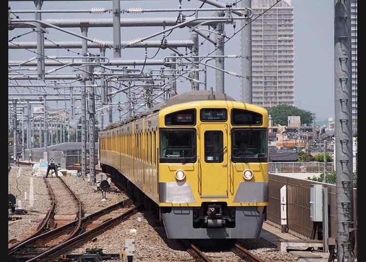 Tiket pengangkutan khas untuk pelancong asing daripada Seibu Railway