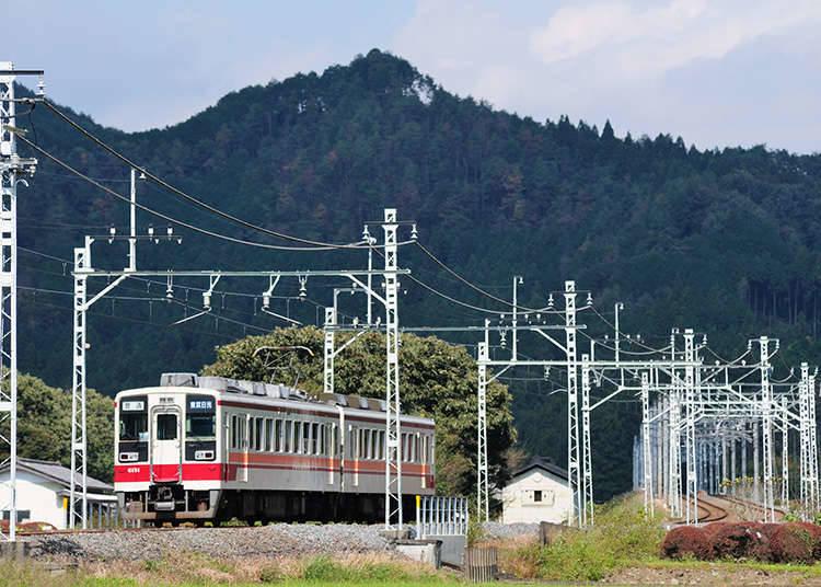 東武鐵道的外國旅客專用車票