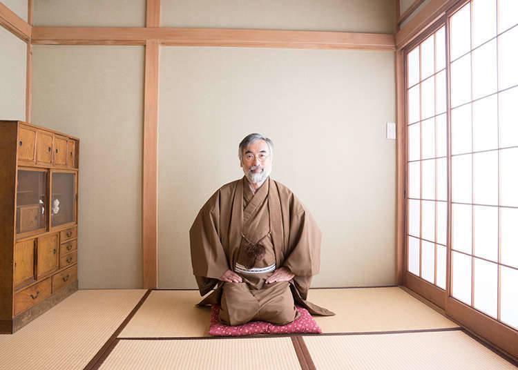 And here comes a modern-day kimono