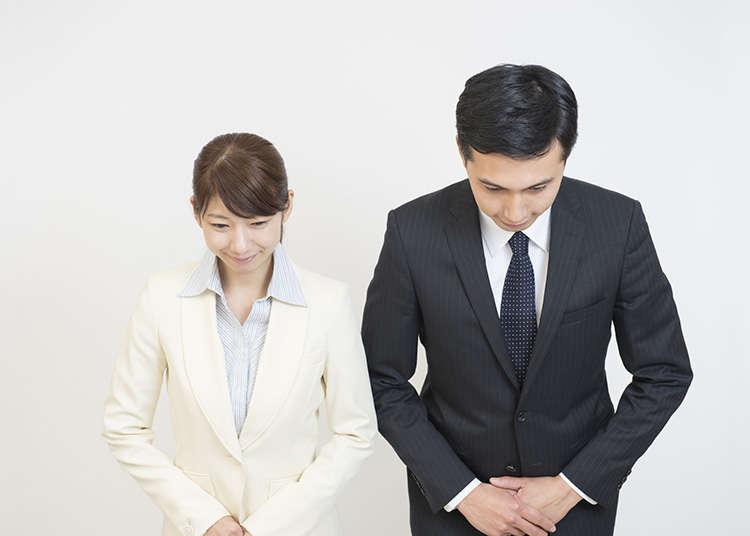 日本人的肢体语言