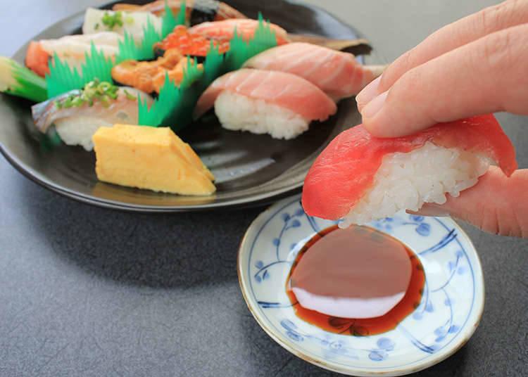 Counting sushi: kan