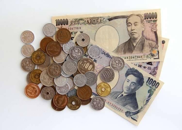 """货币单位""""日元""""(JPY)"""