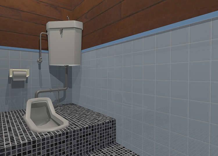 和式トイレの使い方