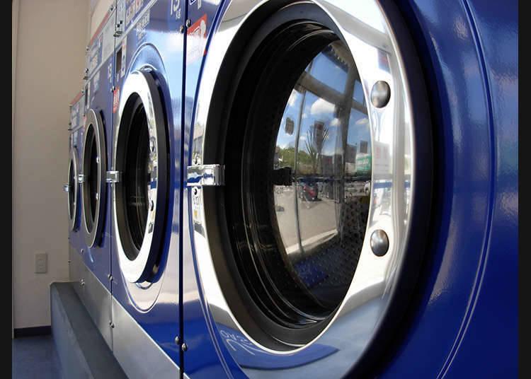 Aturan pada Laundry Koin
