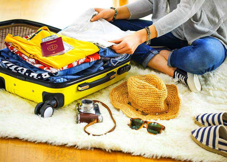 Barangan berguna yang patut dibawa ketika melancong ke Jepun.