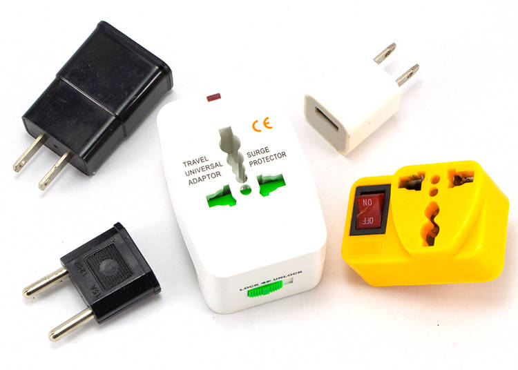 4. Electrical adapter and/or power bank