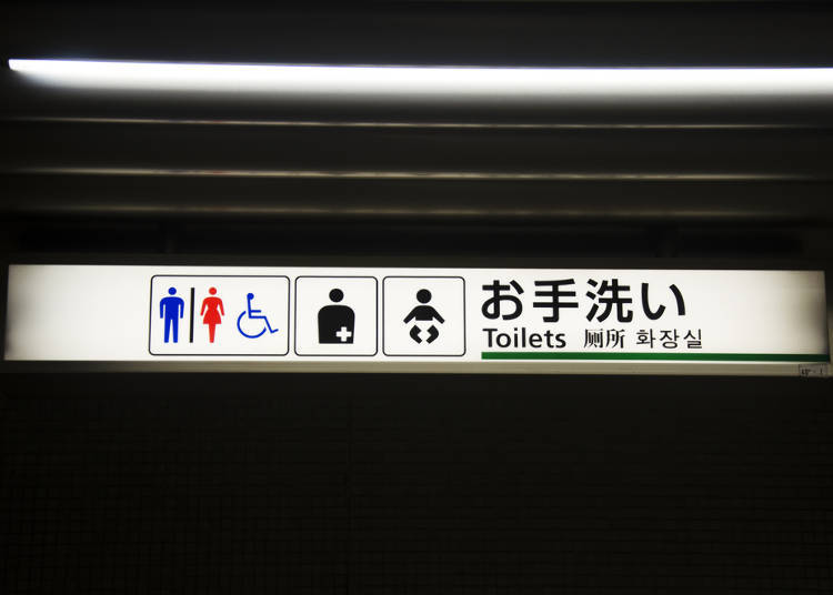 Pictograms Relating to Washrooms