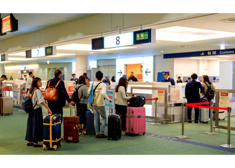 Smooth Entry and Departure To and From Japan: Japanese Customs & Immigration