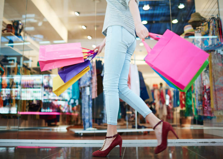 일본여행중 이용한 모든 가게에서 면세가 가능한가?