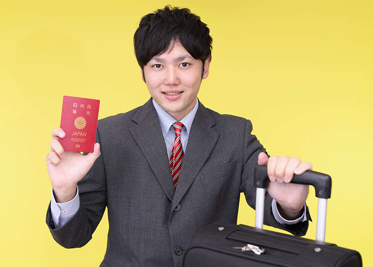 パスポートは携帯必須