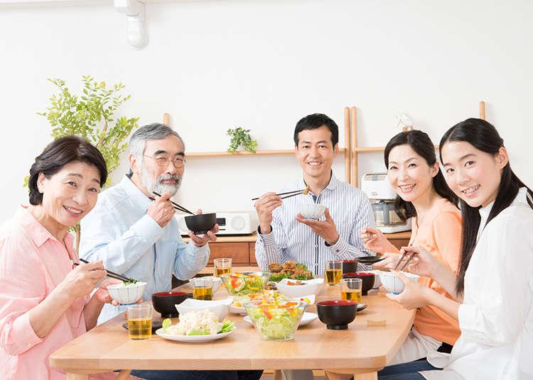 日本での食事のマナー