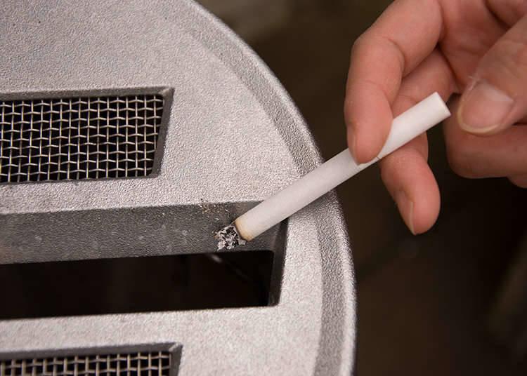 길거리 흡연은 매너 위반