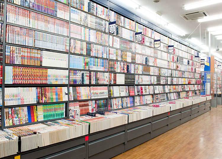 在日本购买漫画