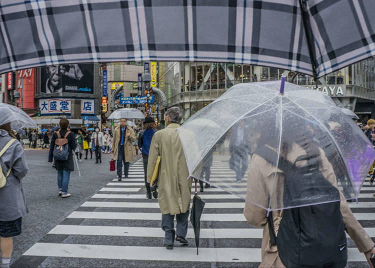 "4. What and when is ""Tsuyu"" - Japan's rainy season?"