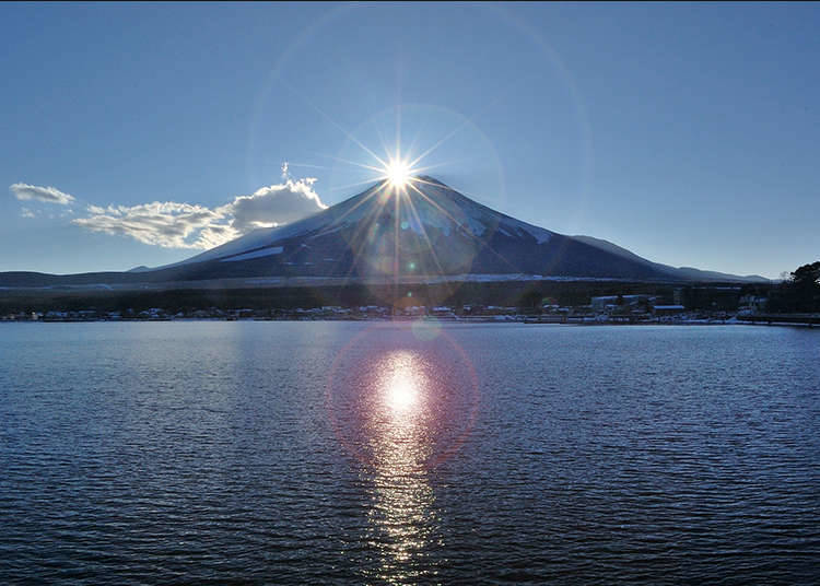 8. Mt. Fuji can forecast the weather?