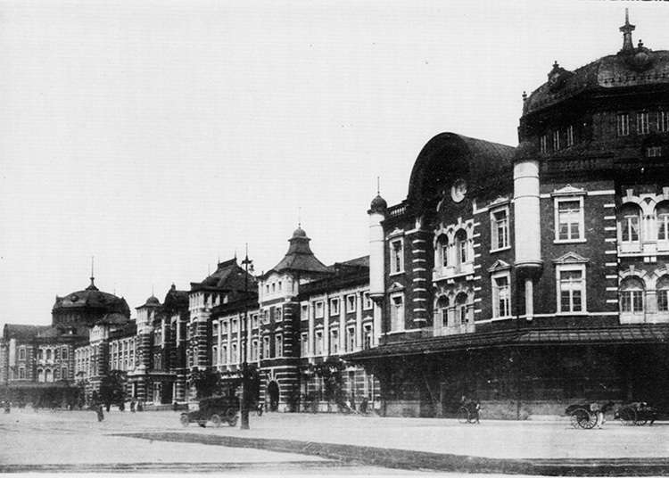 The Opening of Tokyo Station