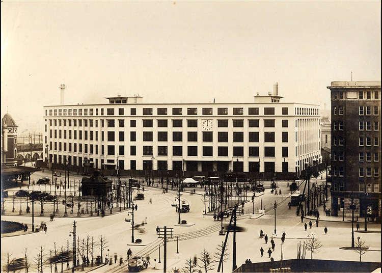 日本最初の郵便役所
