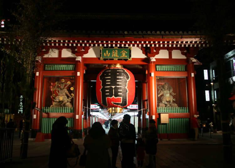 아사쿠사·우에노는 역 근처에서 관광을 즐길 수 있다