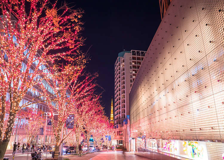 国际化街道——六本木