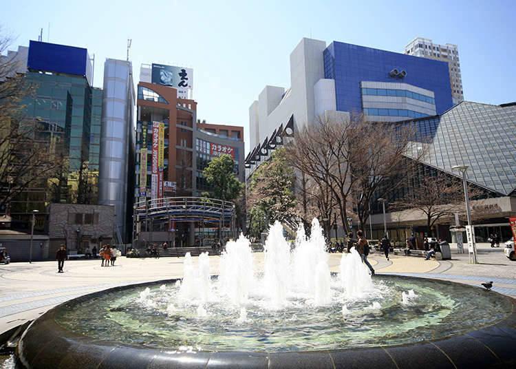 ทางออกสถานีอิเคะบุคุโระฝั่งตะวันตก