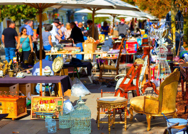 Morning Suggestion 3:  Head Out to the Morning Market!