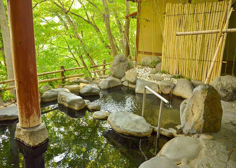 Perbezaan antara onsen (kolam air panas) dan sento (kolam mandi awam)