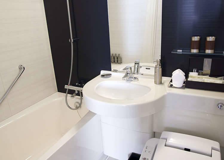 ห้องอาบน้ำรวมในโรงแรม