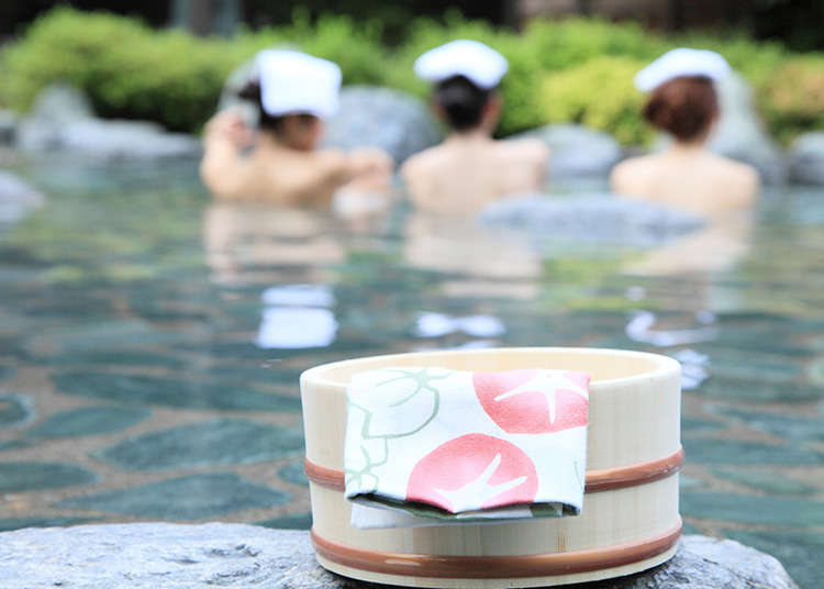 「Kake湯(溫水沖洗)」:泡澡的禮節