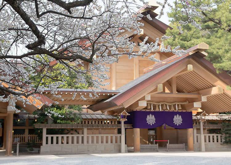 """สถาปัตยกรรมแบบดั้งเดิมญี่ปุ่น """"โครงสร้างแบบชินเม"""" (Shinmei-zukuri)"""