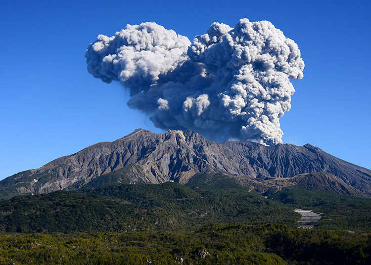 Japan: the country of frequent volcanic eruptions